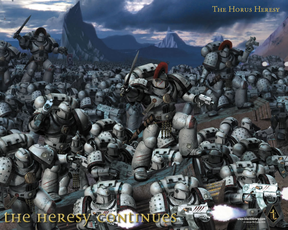 The Horus Heresy, courtesy The Black Library