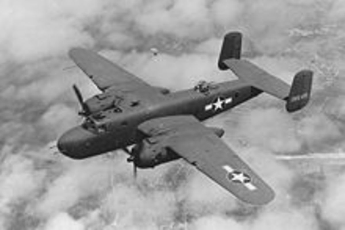 B-25D Mitchell Bomber