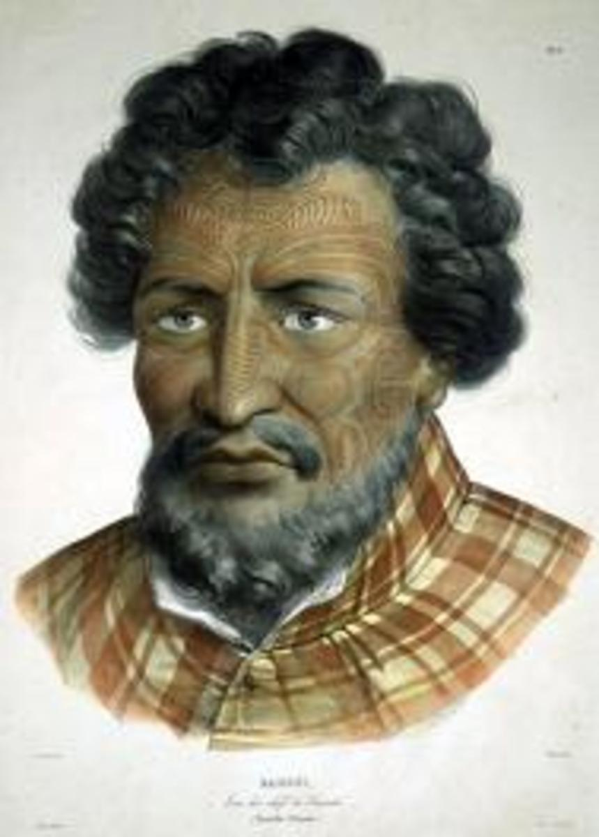 A Maori chief named Rangui. Not the chief of the quote.