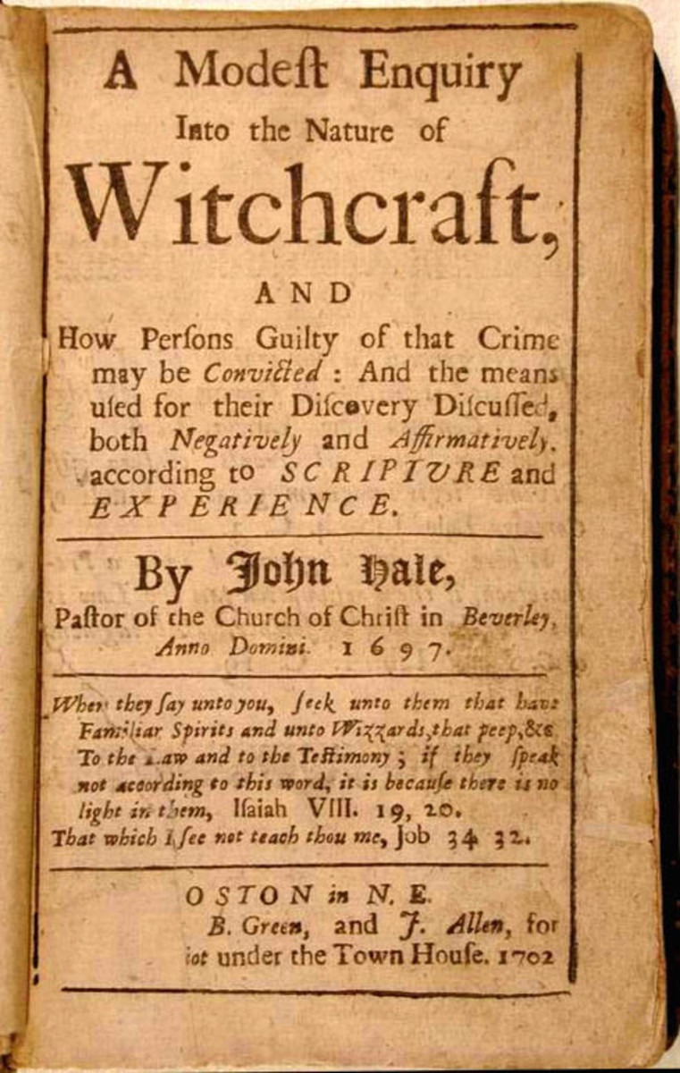 History and Effects of Witchcraft Prejudice and Intolerance