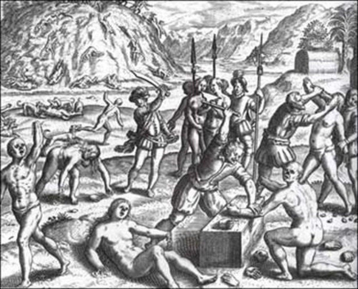 """Columbus' """"Tribute System"""" in Hispaniola"""