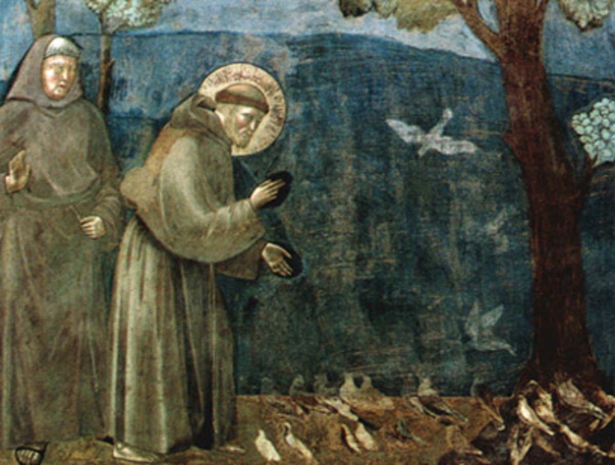 St Francis: O Divine Master, grant that I may not so much seek to be consoled as to console; to be understood as to understand; to be loved as to love.
