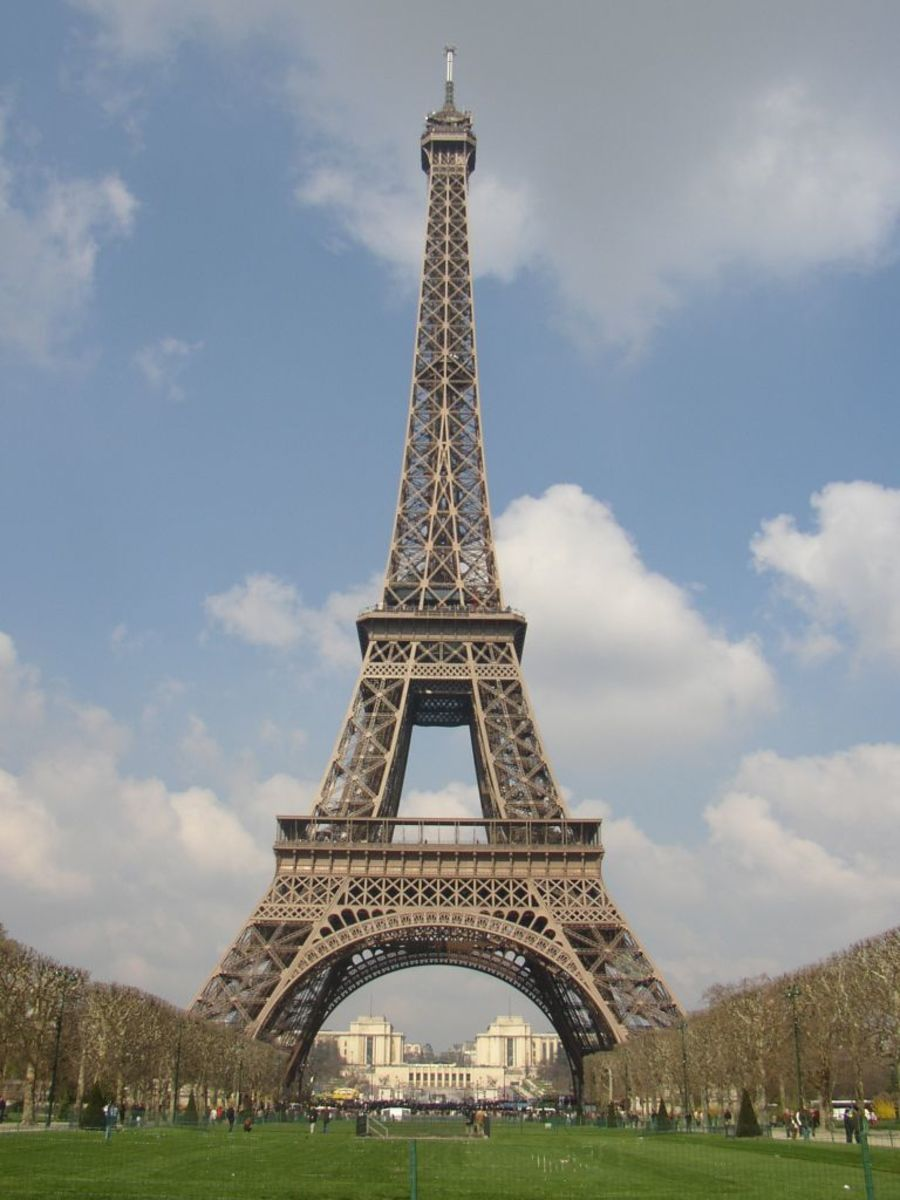 The Eiffel Tower. No real rust!