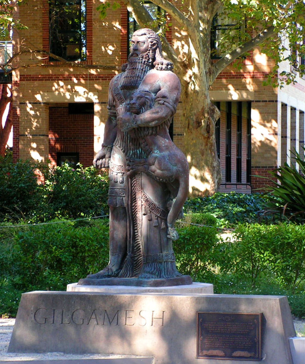 Statue of Gilgamesh, University of Sydney, Sydney, NSW, Australia
