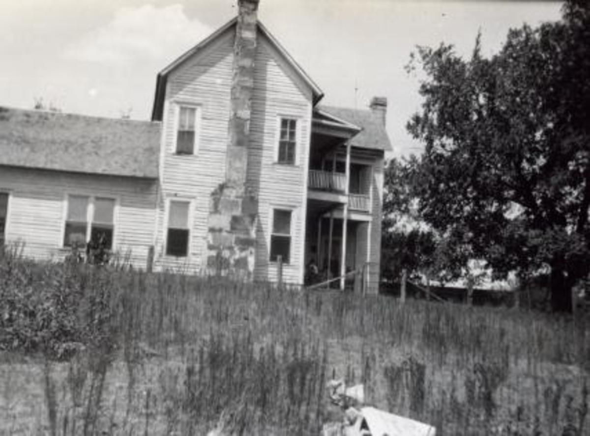 The Conser Home, July 25, 1930