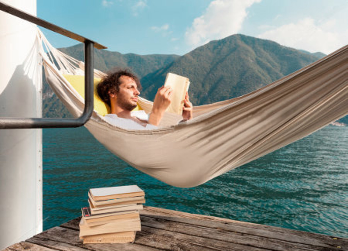 Travel without leaving your hammock!