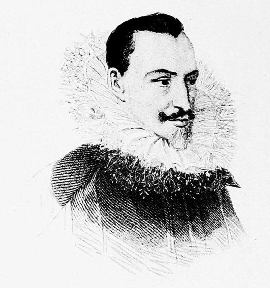 Edmund Spenser, author of Faerie Queen