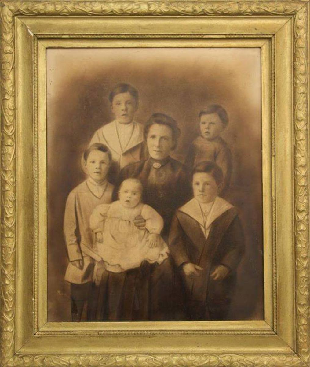 Mrs. Rice and her children
