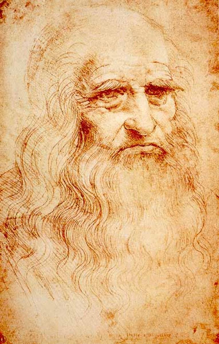 da Vinci's self-portrait