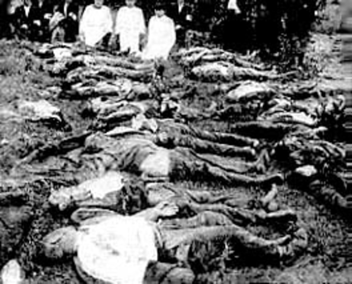 "General massacre committed by the Bolsheviks in the sugar factory of Panevezys on 26th June 1941 ""In the night of July 11-12 1940, more than 2,000 upperclass Lithuanians were seized unexpectedly by the Soviet NKVD in Lithuania."