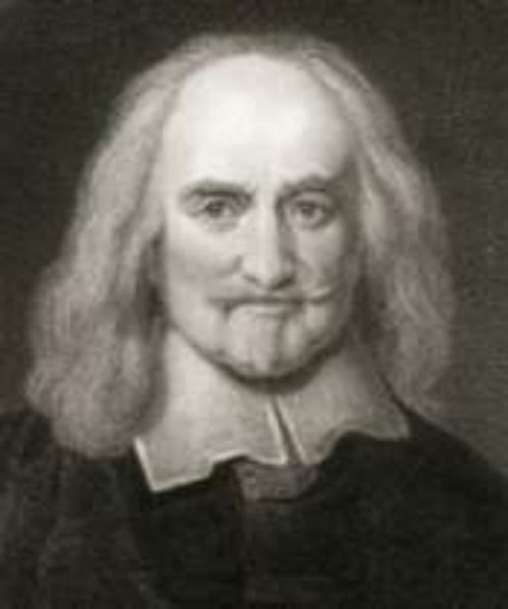 Thomas Hobbes (5 April 1588 4 December 1679)