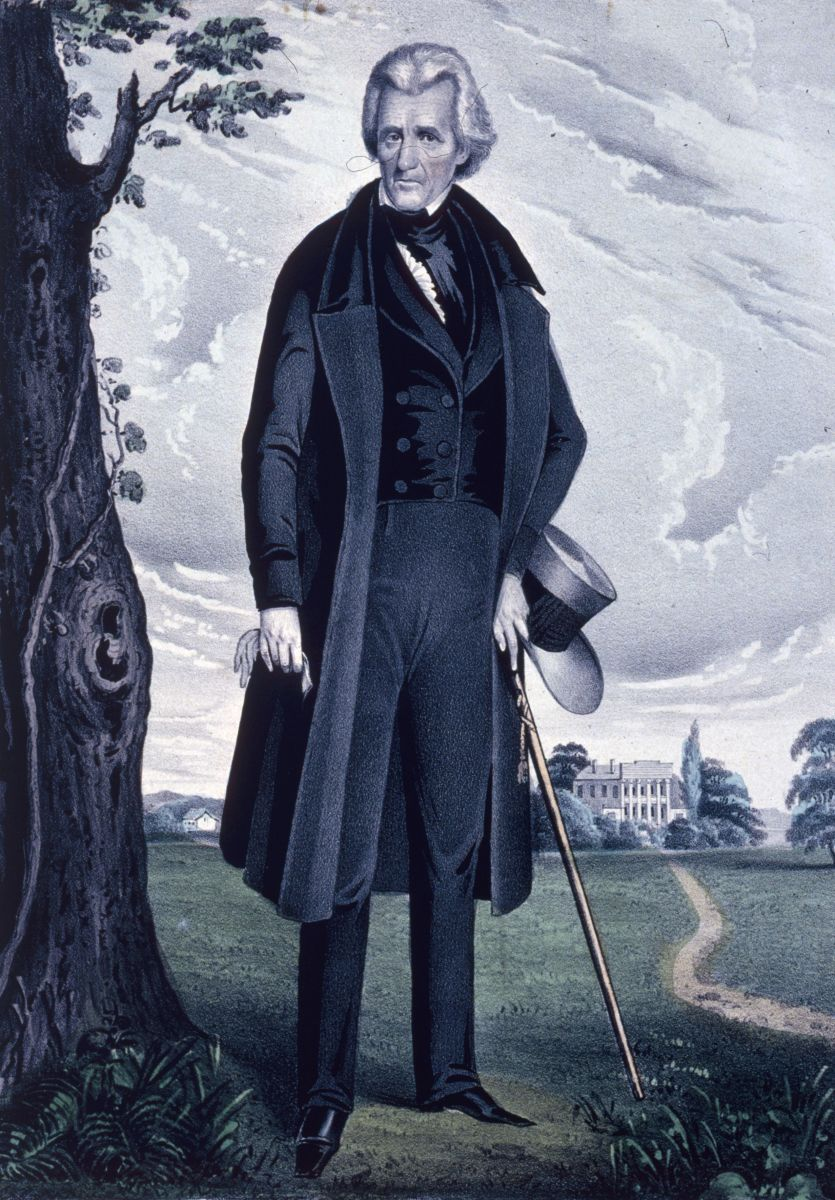 ANDREW JACKSON AT THE HERMITAGE