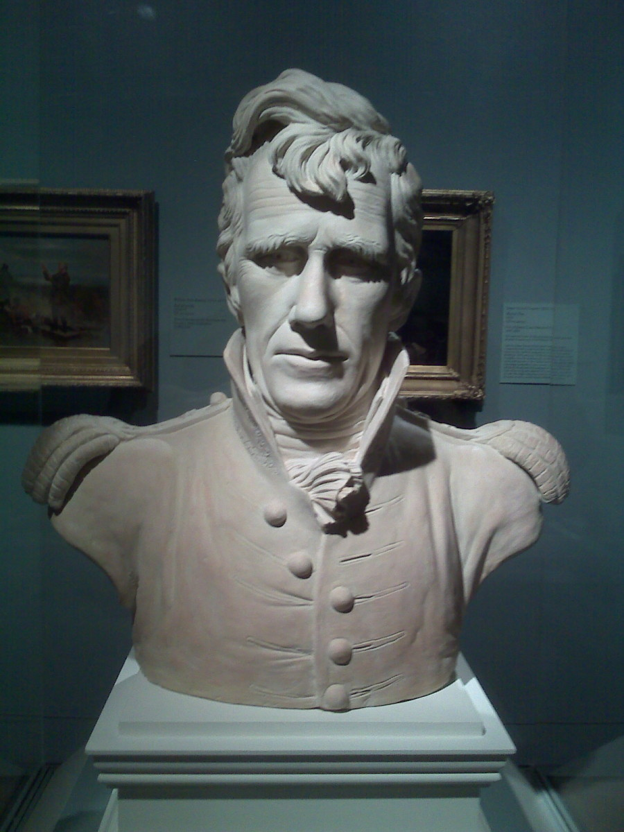 BUST OF ANDREW JACKSON