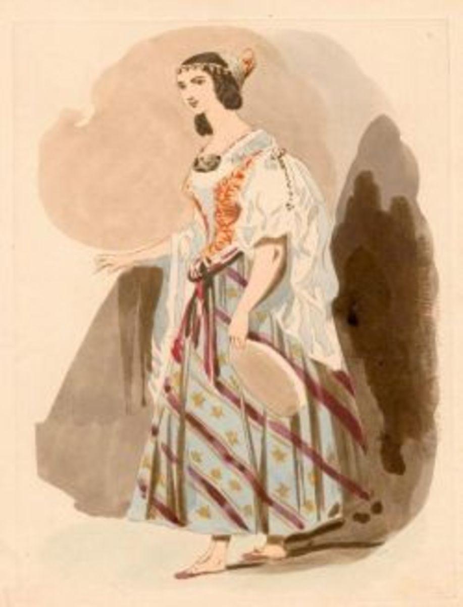 La Esmeralda Costume Design