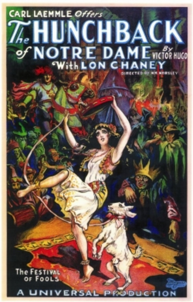 Movie Poster for the 1923 Lon Chaney Version