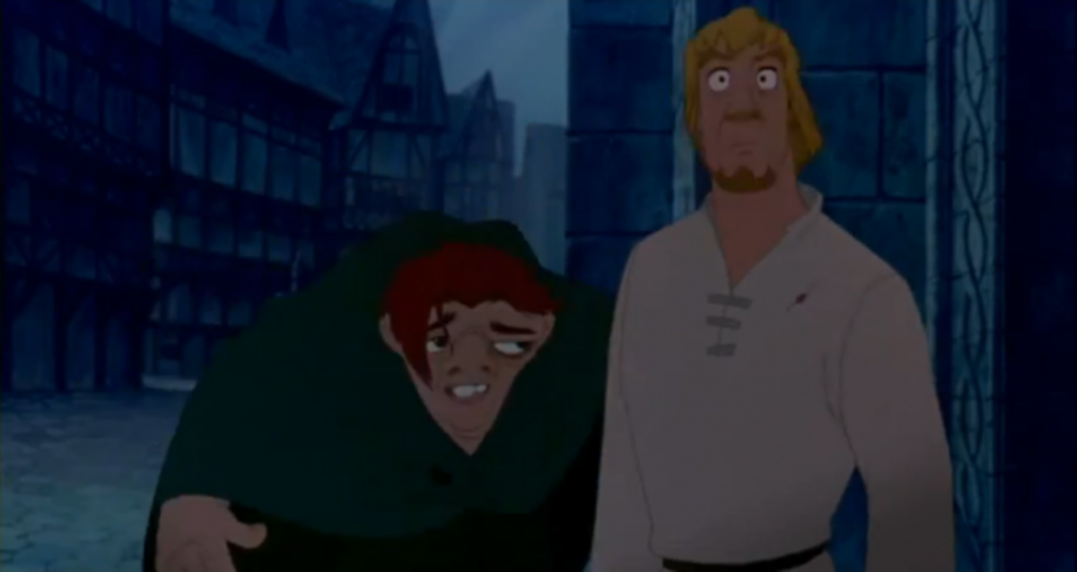 Disney Phoebus and Quasimodo