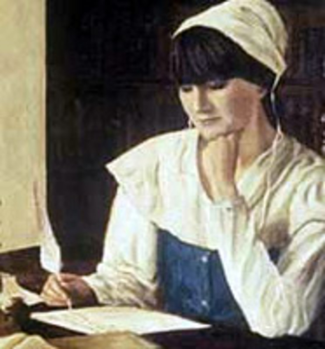 anne bradstreet s the author to her book a close reading source