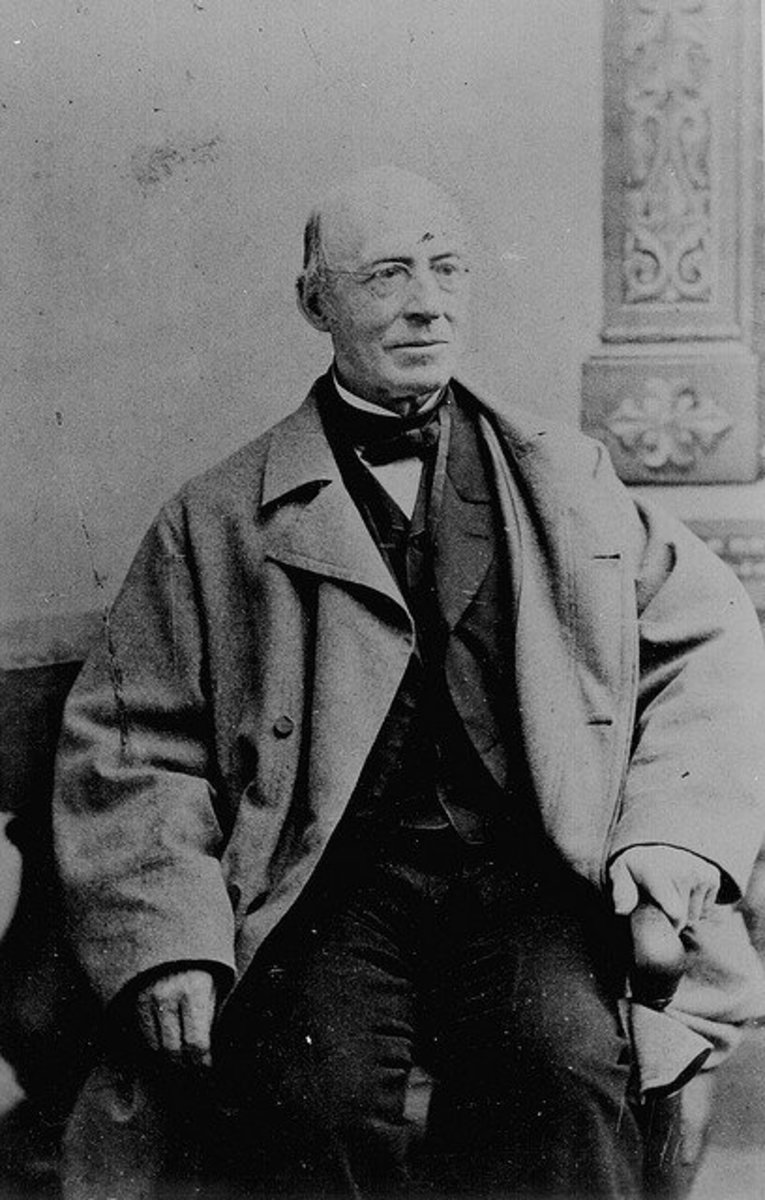 Garrison towards the end of the Civil War.  He 'd been fighting to end slavery for over 30 years.