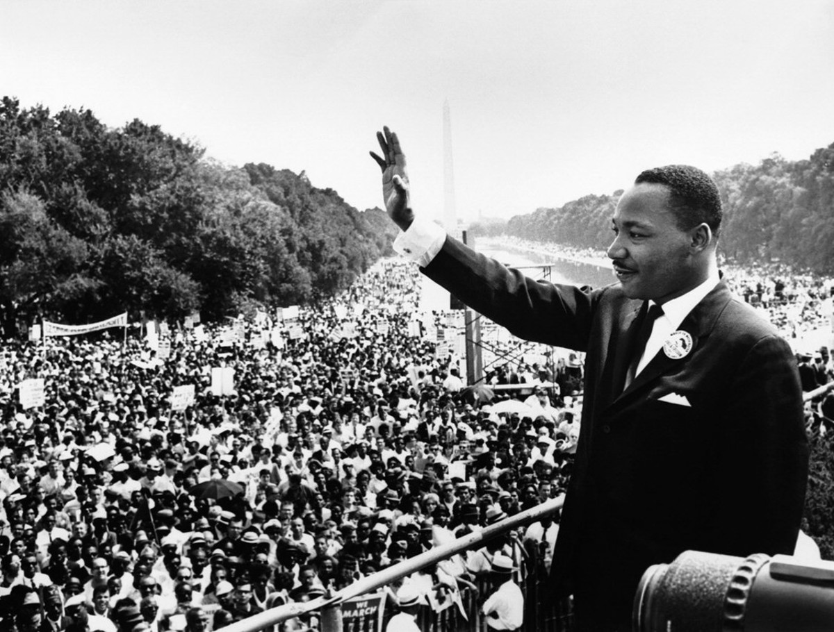 Dr. Martin Luther King, Jr., seen here in Washington D.C., was likely an INFJ.
