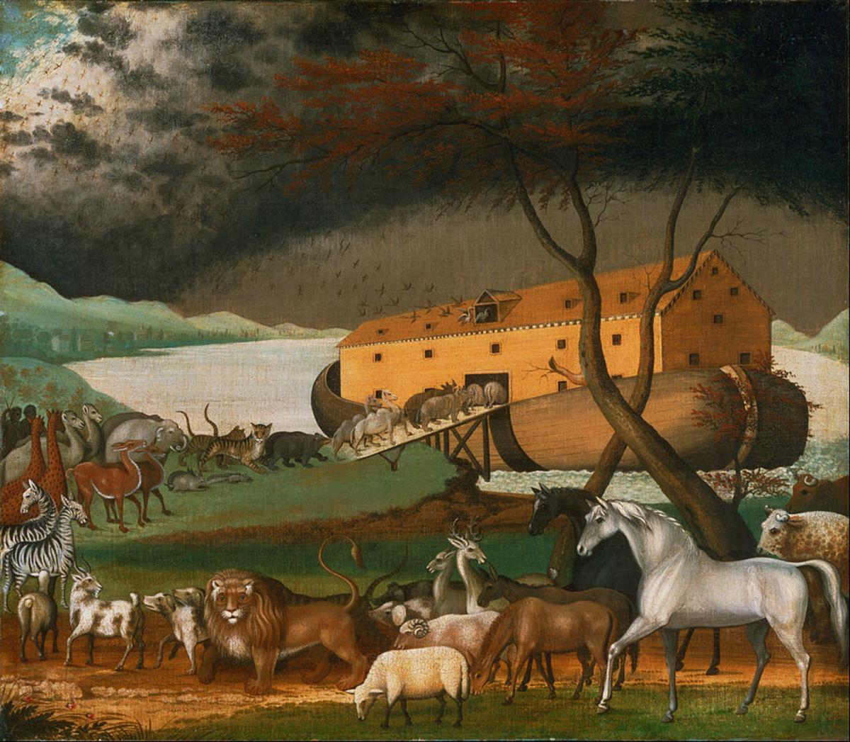 Noah's ark.