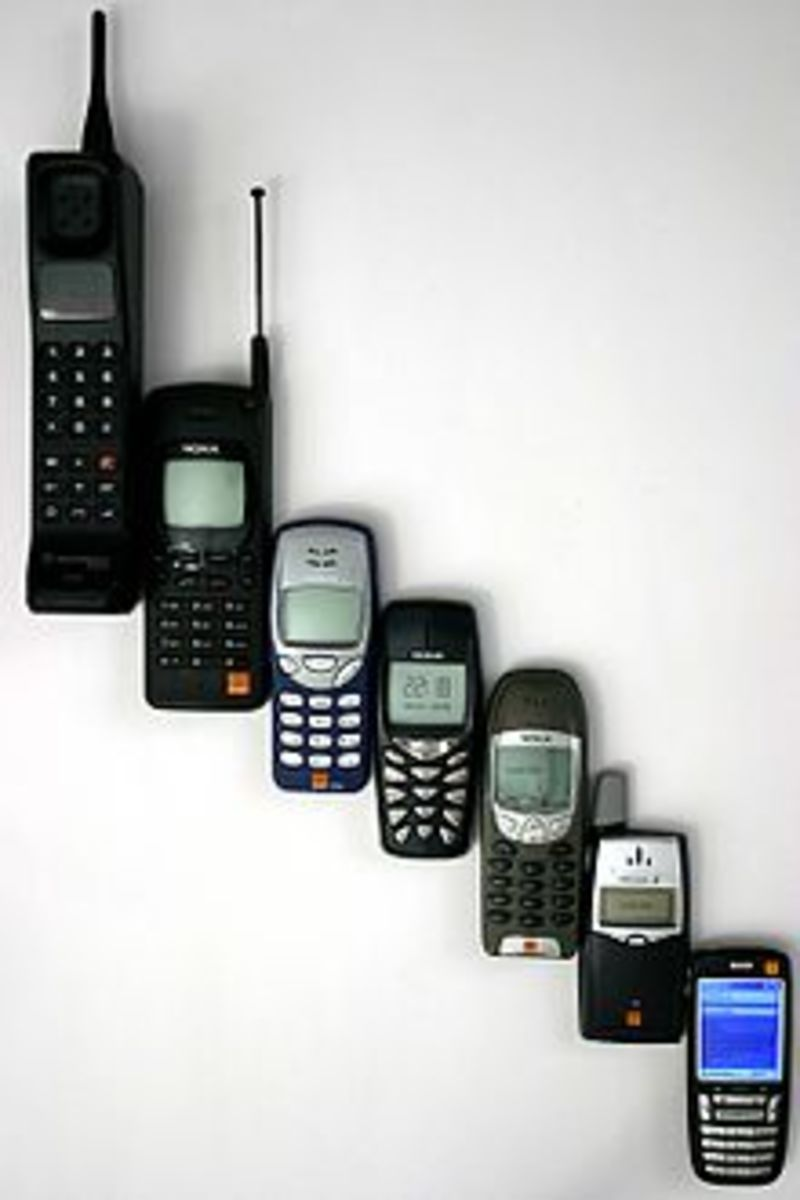 Can you hear me now? Mobile phones have come a long way. Today's standard smartphones are much lighter, sleeker, and more advanced than Dr. Cooper's original invention.