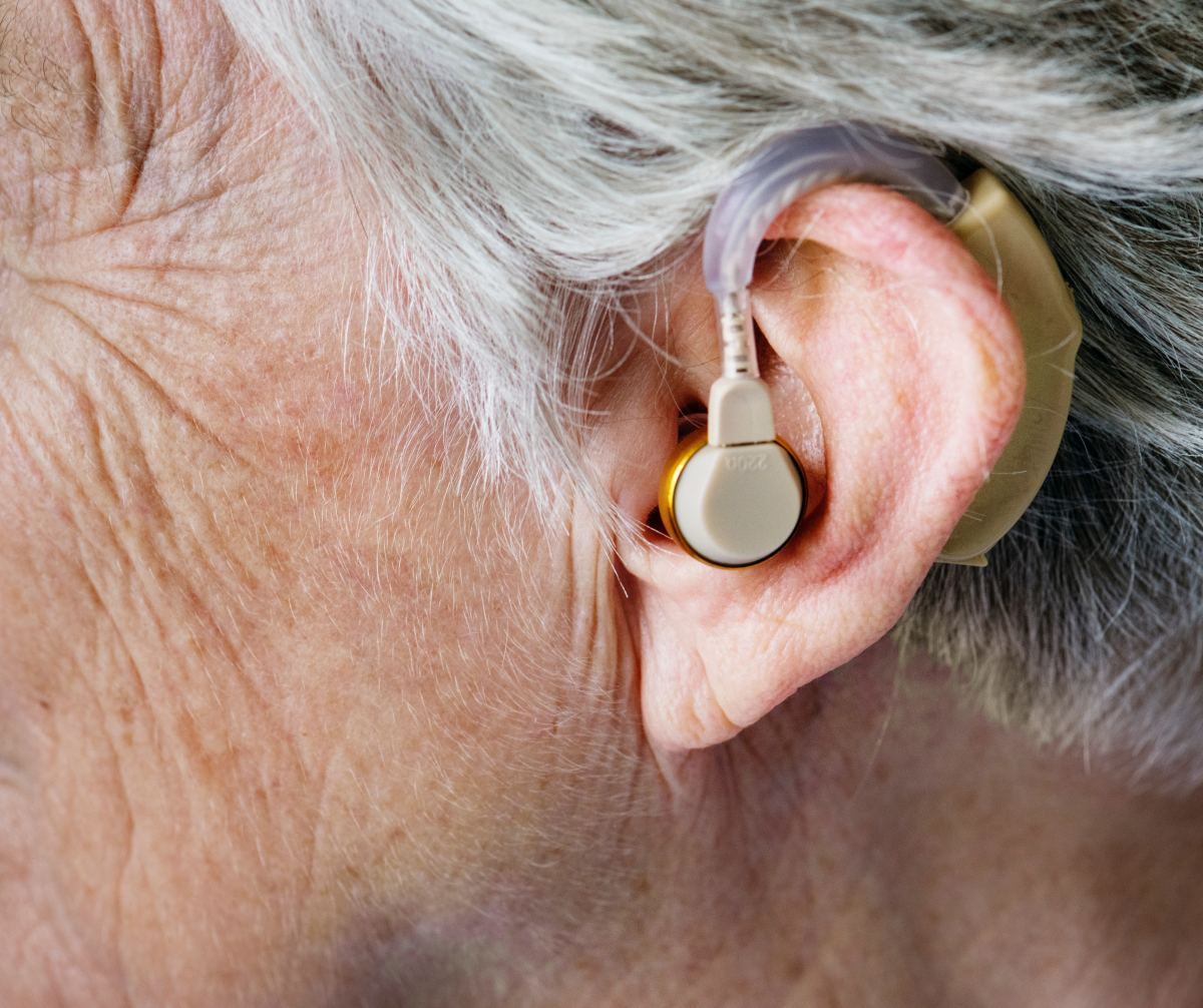 Hearing aids help to amplify sounds for those who are hard of hearing, giving them the opportunity to live a safer and more robust lifestyle.