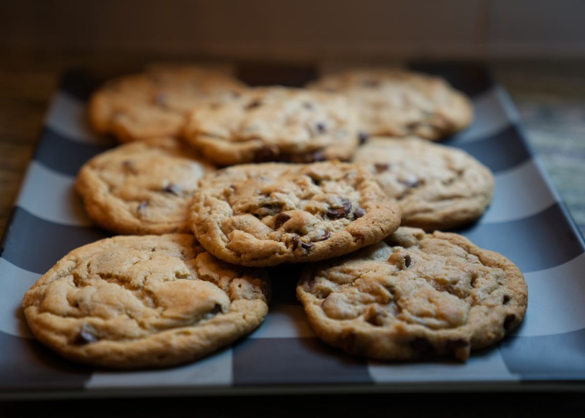 Chocolate chip cookies are a true American dessert staple.