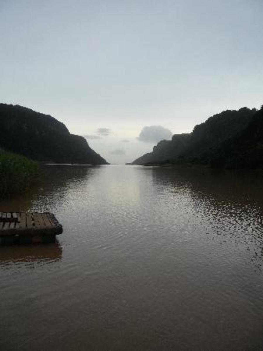 Umzimvubu Rriver, Port St John's, South Africa