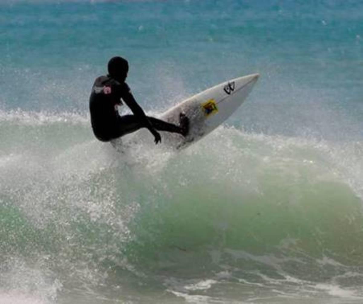 Zama Ndamase was killed by a shark at Second Beach.
