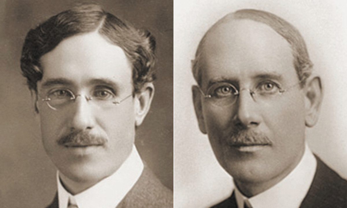 Charles Sumner Greene and Henry Mather Greene