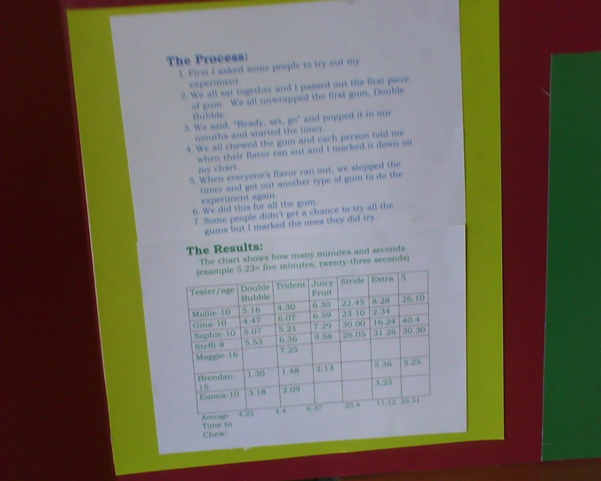 Step 7: Look at your results and write out your conclusions.  Was your guess right?  What patterns do you notice? Look at the videos to learn more about probability.