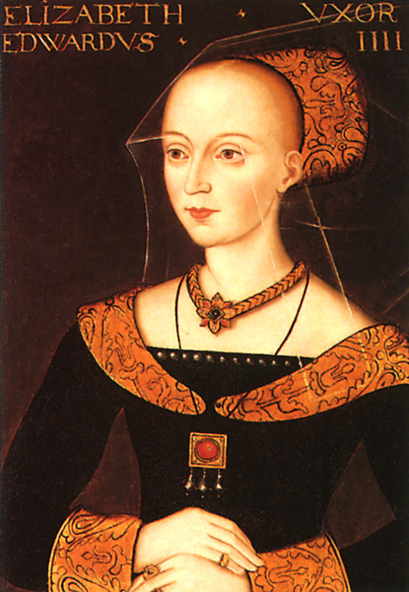Elizabeth Woodville, mother of the Princes in the Tower.