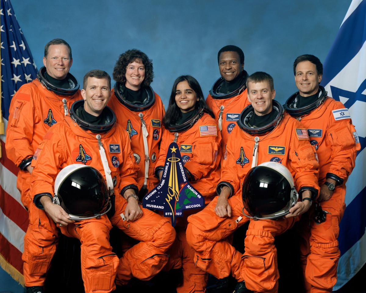 Crew of Columbia, STS-107