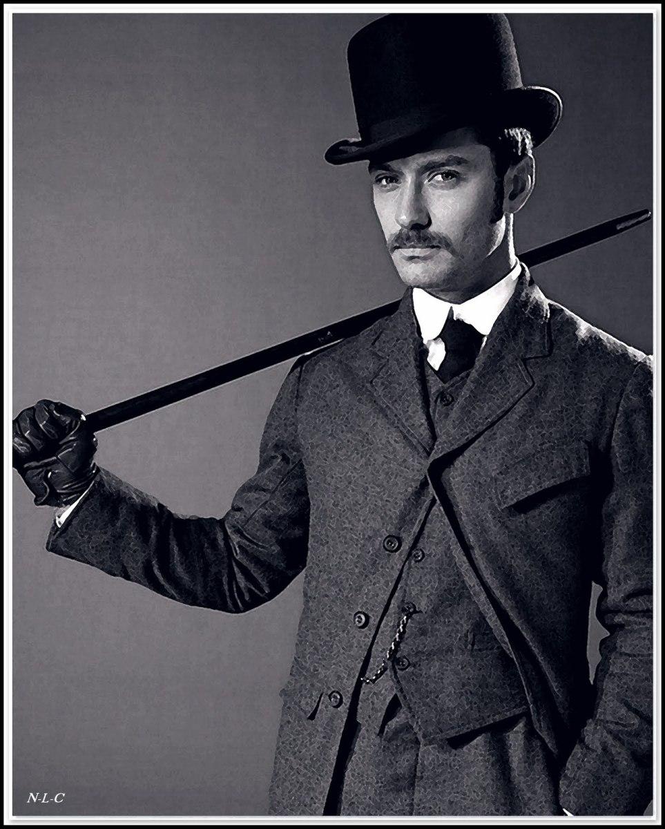 Jude Law as Doctor Watson (from Sherlock Holmes)