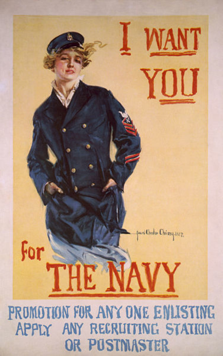 US Navy Recruitment Poster 1917
