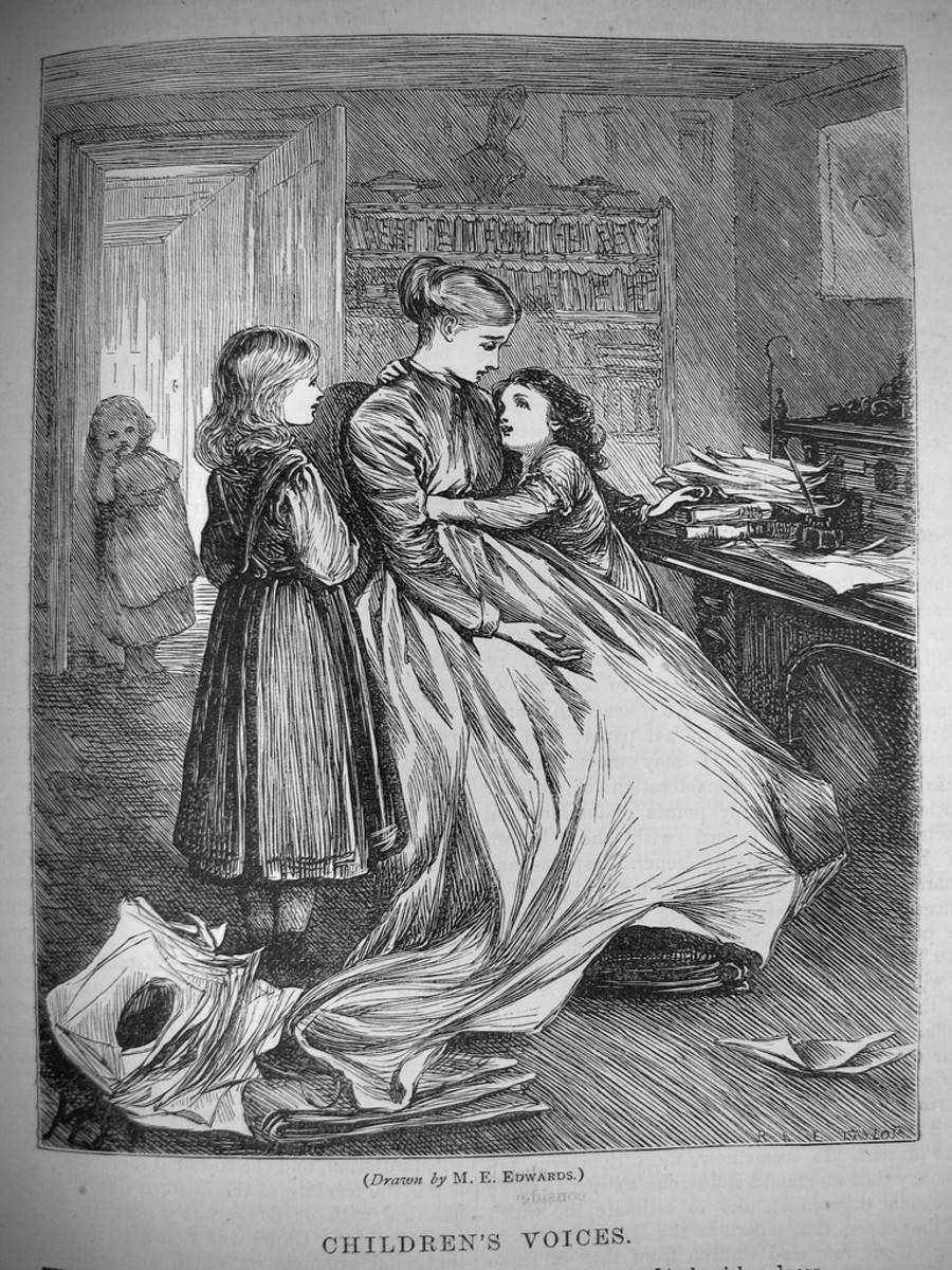 Working from home in Victorian times meant long hours, dreadful monotony, and very low pay.