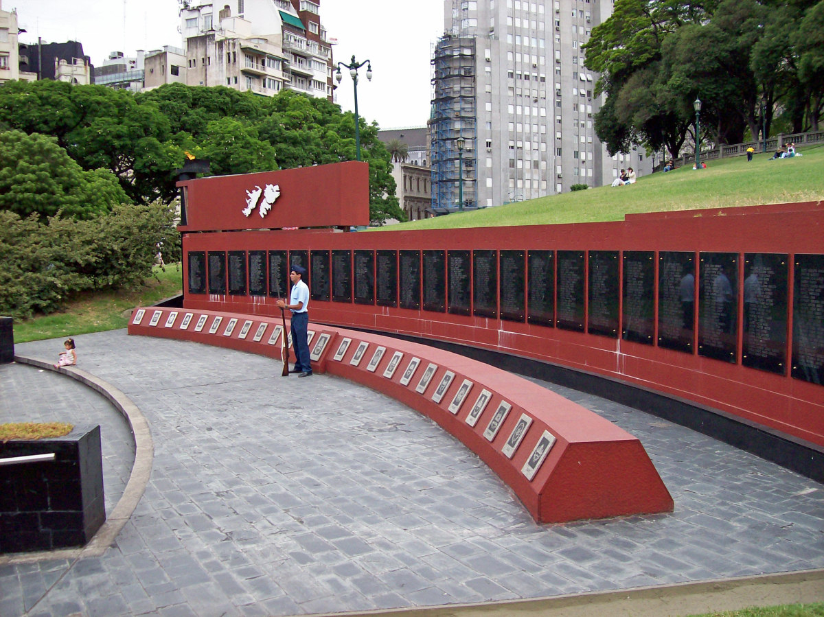 Falklands War Monument in Argentina