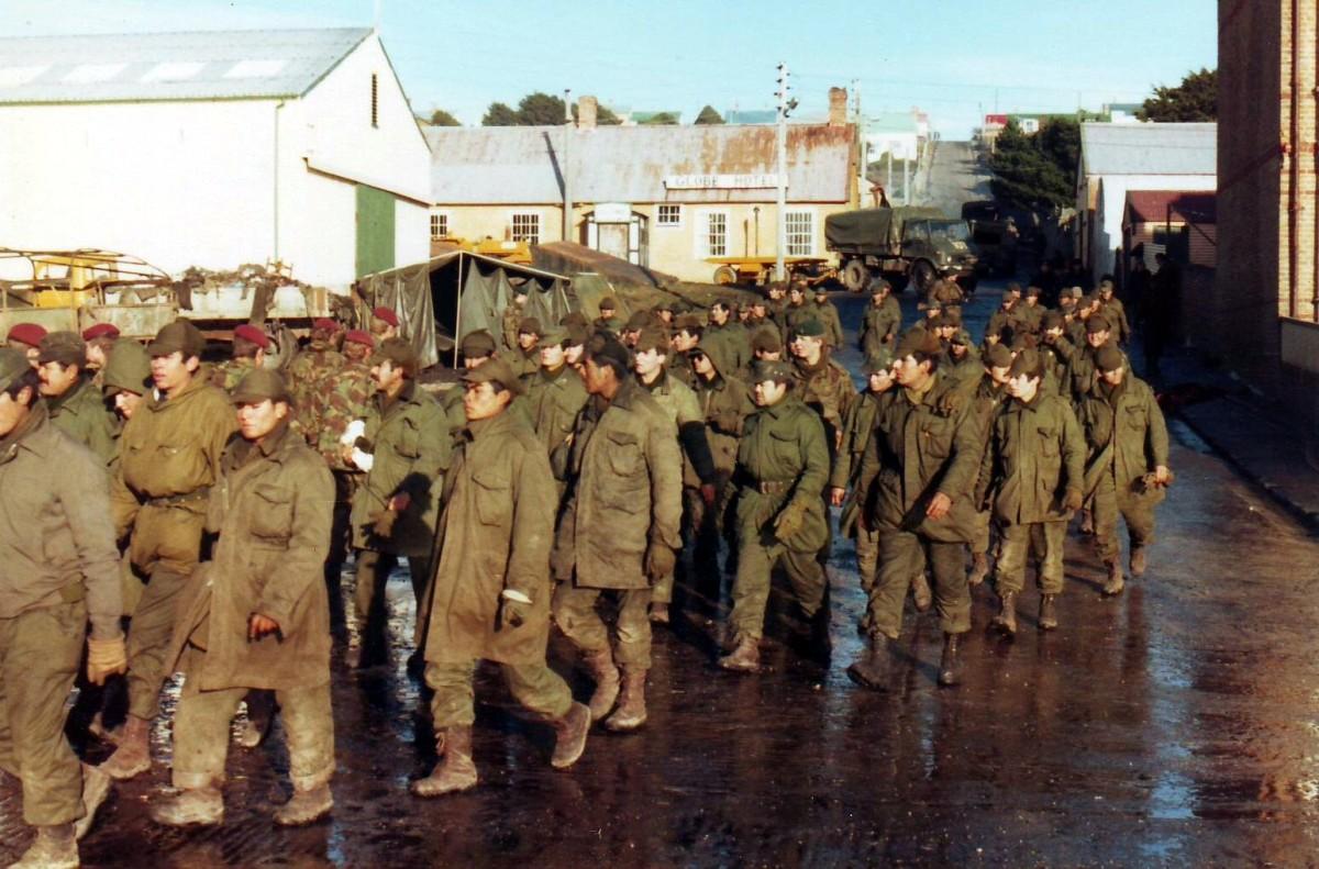 Argentine Prisoners of War.