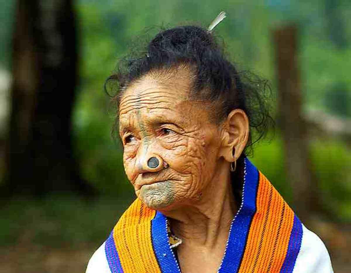 Apatani Lady With Yaping Hurlo