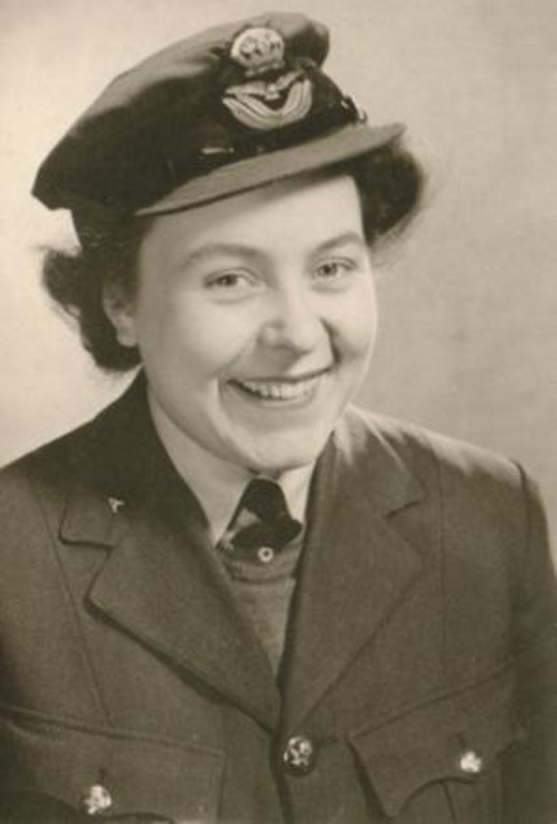 Eileen Younghusband who filtered through to the German's Big Ben message threatening the bombing of London by V2 bombers.