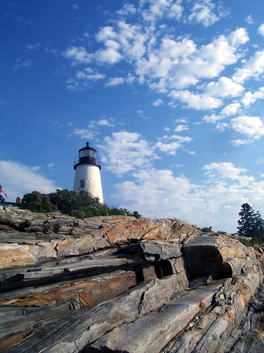 The Lighthouse At Pemaquid Point Was Made Famous In A Painting By Edward Hopper