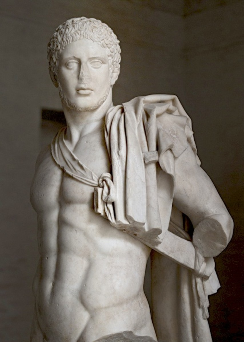 Statue of Diomedes (Roman copy of a Greek original) in the Munich Glyptothek