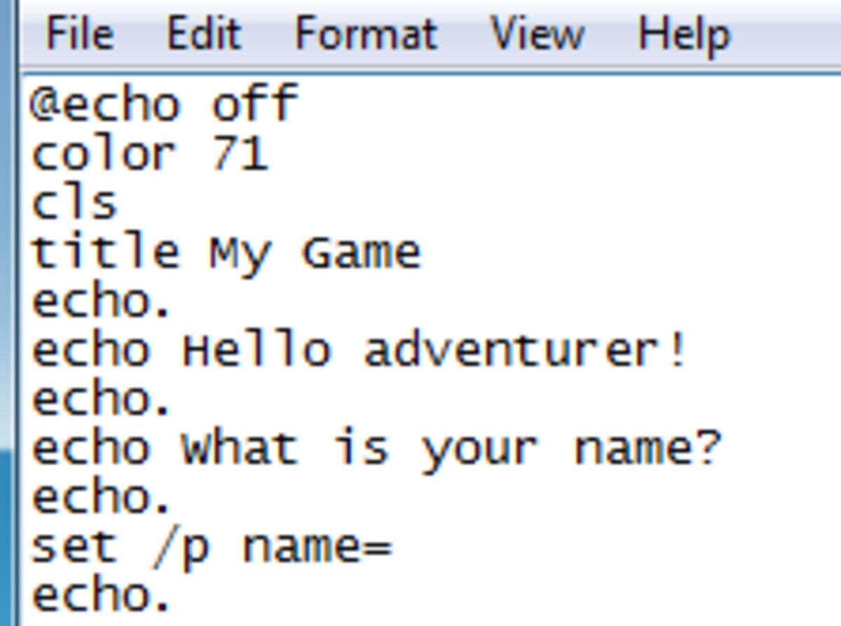 set /p name=