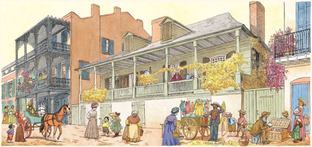 18TH CENTURY NEW ORLEANS