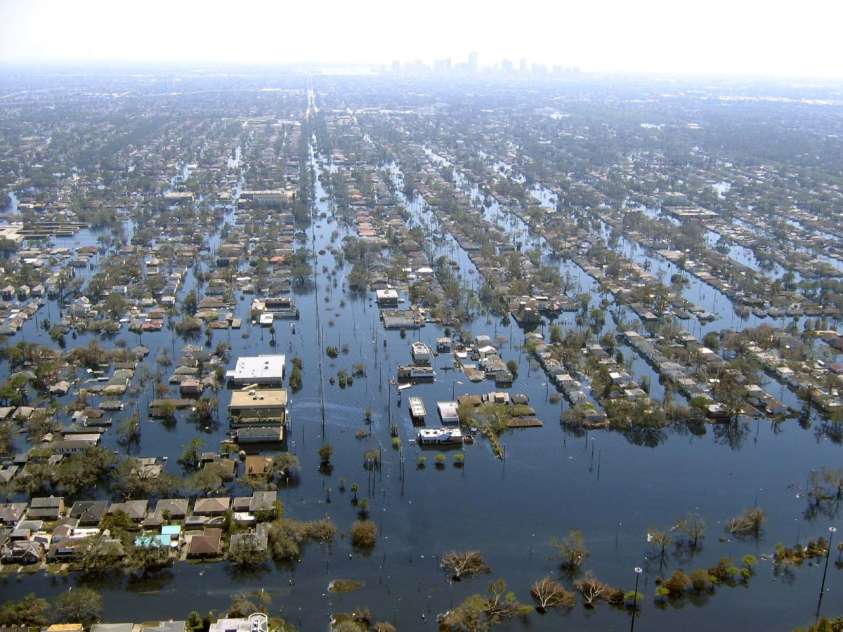 FLOODING CAUSED BY HURRICANE KATRINA