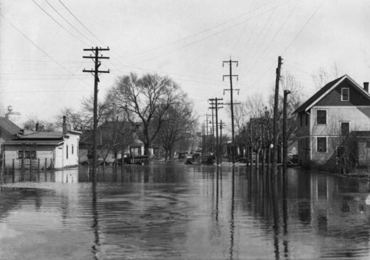 GREAT MISSISSIPPI RIVER FLOOD OF 1929