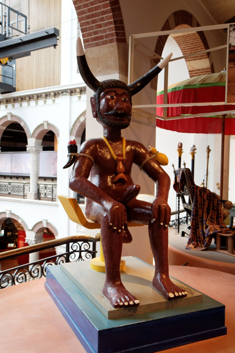 THE DEMON GOD OF VOODOO: LEGBA