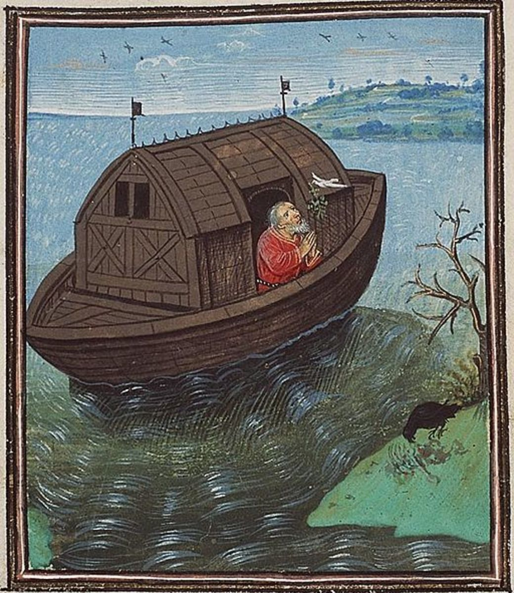 The story of Noah is borrowed from a much older Sumerian creation myth.