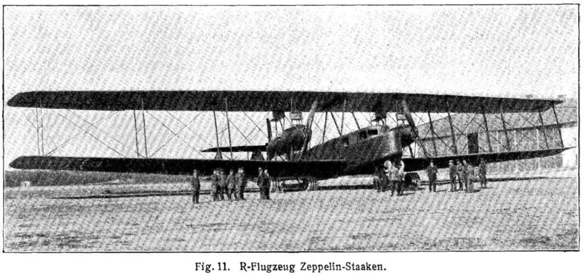 WW1: Zeppelin-Staaken R.VI (Giant)