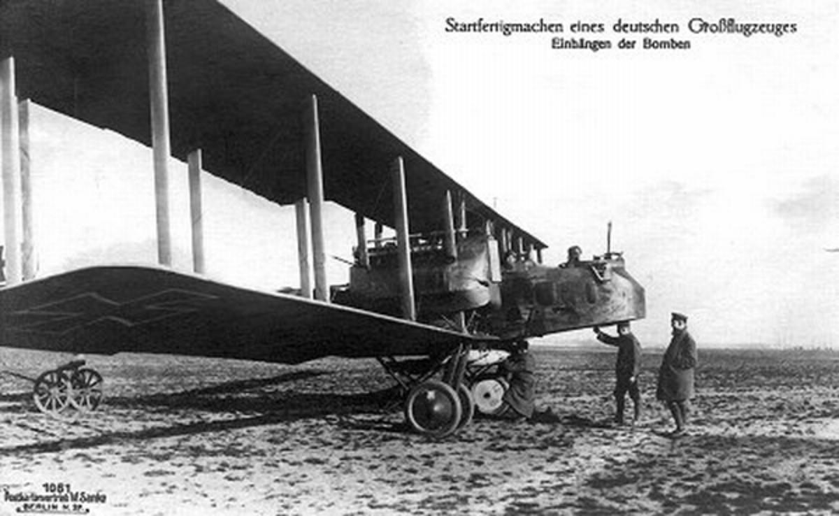 WWI: Gotha Heavy Bomber